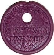 Token - Sinetram Manaus AM (student pass) – avers