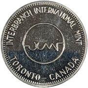 Token - Torex Interbranch International Mint – revers