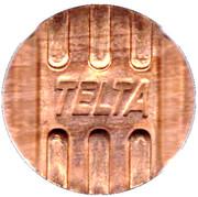 Telephone Token - Telta (Nizhny Novgorod) – avers