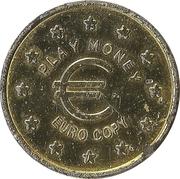 Jeton play money - 20 Cents – avers
