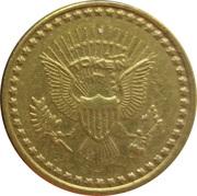Token - No Cash Value (Eagle looking left) – avers