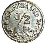 Token - 1852 California 1/2 – revers
