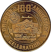 50 Cents - Oregon Centennial – avers