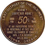 50 Cents - Oregon Centennial – revers