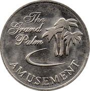 Jeton - The Grand Palm Amusement – avers