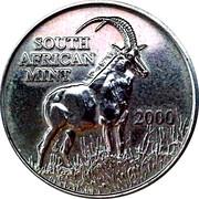 Coin World Token 2000 – avers