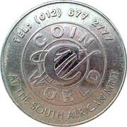 Coin World Token 2000 – revers
