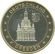 Token - Deutschland (Dresden) – avers