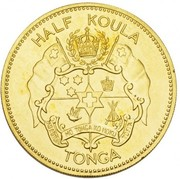 ½ Koula - Salote Tupou III – avers