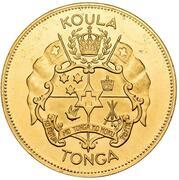 1 koula - Salote Tupou III – avers