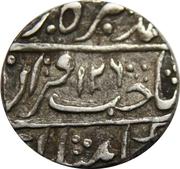 1 Rupee - Wazaif Muhammad Khan (Sironj mint) – avers