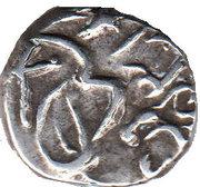 ⅛ Rupee - Muhammad Sa'adat Ali Khan (Tonk) – avers
