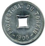 1/600 piastre (Piedfort) – avers
