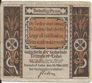 20 Pfennig (Tonndorf-Lohe) – avers