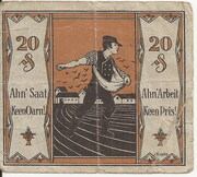 20 Pfennig (Tonndorf-Lohe) – revers