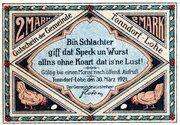 2 Marks (Tonndorf-Lohe) – avers
