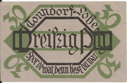 30 Pfennig (Tonndorf-Lohe) – revers
