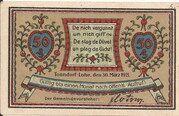50 Pfennig (Tonndorf-Lohe) – avers