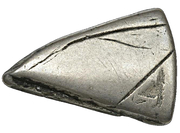 1 Shilling (Countermark type II) – revers