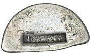 9 Pence (Countermark type I) – avers