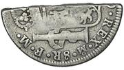 4 Shillings  1-½ Pence (Countermark type II) – revers
