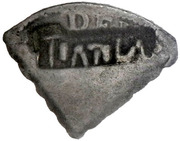 2 Shillings (Type IV countermark) – avers