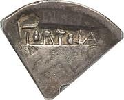 2 Shillings (Type III countermark) – avers