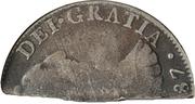 4 Shillings  1-½ Pence (Countermark type I) – revers
