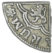4½ Pence (Cut without countermark) – avers