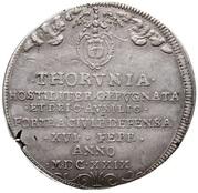Talar oblężniczy - Toruń under siege (Toruń mint) – avers