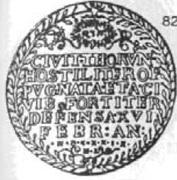 Talar toruński - brandtalar - Toruń under siege (Toruń mint) – avers