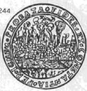 Dwutalar toruński - Toruń under siege (Toruń mint) – revers