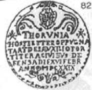 Trzy dukaty - Toruń under siege (Toruń mint) – avers