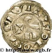 Denier - Guillaume IV (Comte de Toulouse) -  revers