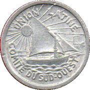 5 centimes - Comité régional - Toulouse [31] – avers