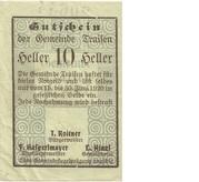 10 Heller (Traisen) – avers