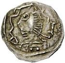 ½ silique Au nom de Justinien I, 527-565 (Pannonie?) – avers