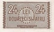 24 Lei – revers