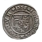 1 Denár - János Zsigmond & Izabella (1540-1559) – avers