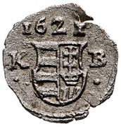 1 Obulus - Gábor Bethlen (1613-1629) – avers
