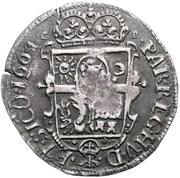 ½ Thaler - Michael Apafi (1661-1690) – revers