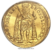 1 Ducat - Leopold I – avers