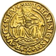 1 Ducat  - John Sigismund Zapolya & Izabella 1540-1559 – avers