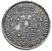3 Thaler -  Michael I. Apafi  (1661-1690) – revers