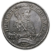 2 Thaler - Michael I. Apafi (1661-1690) – avers