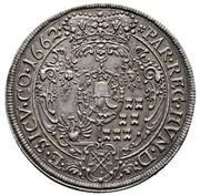 2 Thaler - Michael I. Apafi (1661-1690) – revers