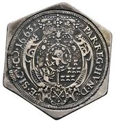 1 Thaler - Michael I. Apafi  (1661-1690) – revers