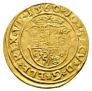 1 Ducat - János Zsigmond (1559-1571) – avers