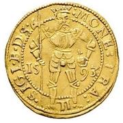1 Ducat - Sigismund Báthori (1581-1602) – avers
