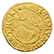 1 Ducat - Zsigmond Báthori (1581-1602) – revers